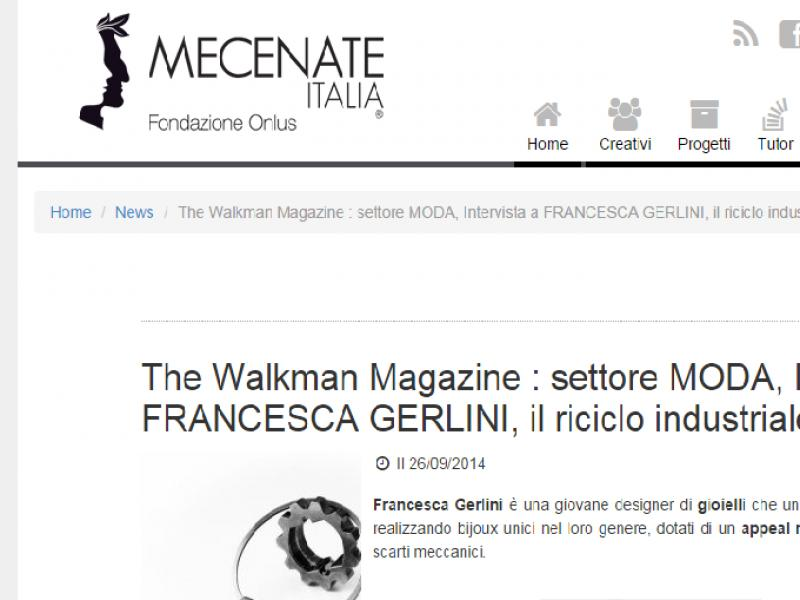 The Walkman intervista Francesca Gerlini
