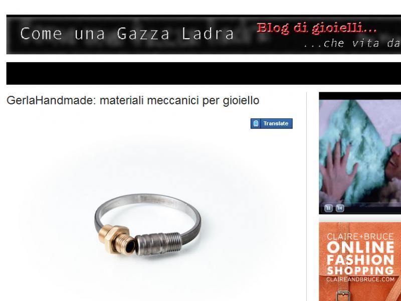 Come una Gazza Ladra - Blog di gioielli
